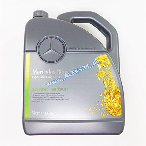 Mercedes-Benz Olio di motore Original 5W-30MB 229,515L