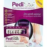 PediSilk - Kit Manucura & Pedicura - Clenosan LIMA eléctrica antidurezas + ACCESORIOS de Manicura & Pedicura - Completa el cuidado de tus pies y consigue unas uñas perfectas
