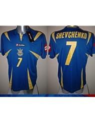 Ukraine Schewtschenko Lotto Erwachsenen Fußball Shirt Trikot XL BNWT NEU AC Milan Extra große Chelsea