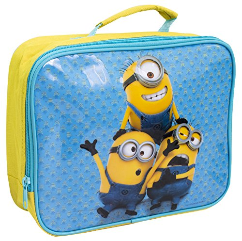 Cattivissimo Me Minion Bambini termica porta pranzo per la scuola borsa Sandwich Box Cool giallo (Isolato Sandwich)