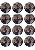 Muffin/Cupcake Aufleger - Essbares Tortenbild nach Wunsch individuell gestaltet Essbares Tortenbild nach Wunsch individuell gestaltet (Kein Fondant sondern Dekorpapier Plus) 6cm Durchmesser