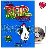 10 tierische Raps - Text und Musik von Felix Janosa - Notenbuch für Kinderchor mit CD und bunter herzförmiger Notenklammer