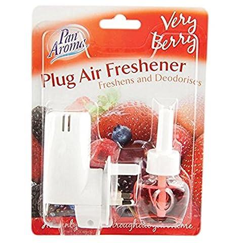 Pan Aroma Plug Air Freshener 20ml Very Berry