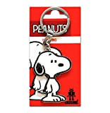 Comic - Peanuts - Perro - Beagle - Snoopy Llavero - Key-Ring - coloreado - Diseño original con licencia - Logoshirt