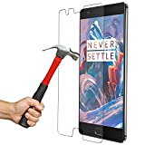 Red Qube Hammer Proof Fiber Tempered Screen Protector with Oleophobic Coating for OnePlus 3/3T