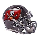 Riddell Mini Football Helm - NFL Chrome Tampa Bay Buccaneers