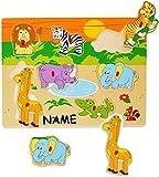 Unbekannt Steckpuzzle mit Griffen - Tiere & Zootiere - incl.