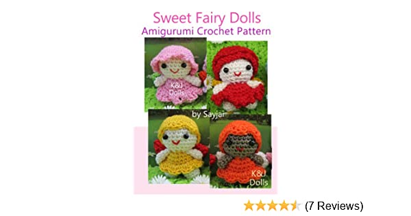 Fairy doll crochet pattern - Amigurumi Today | 315x600