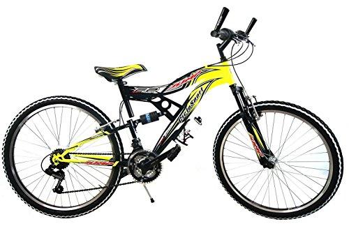 Bicicletta Mountain Bike 26 Biammortizzata Full Suspension 18v