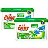 Le Chat Expert Lessive Liquide en Dose 20 Doses / 20 Lavages - Lot de 2