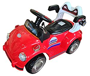 Hlx-Nmc Battery Operated Fun Car Red