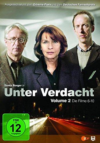 Unter Verdacht - Volume 2/Filme 06-10 [3 DVDs]