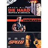 Die hard - Trappola di cristallo + Commando + Speed