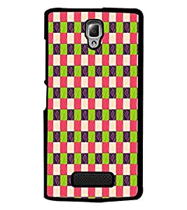 PrintDhaba Pattern D-5913 Back Case Cover for LENOVO A2010 (Multi-Coloured)