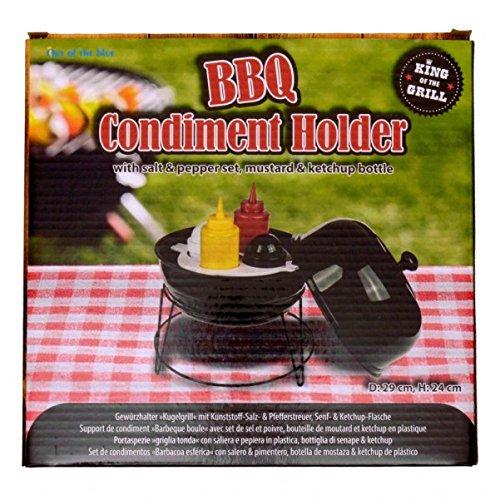 51ND0B76EYL - Kugelgrill Gewürzhalter Grillset - BBQ Grill Gewürzhalter Grill Set Grillzubehör