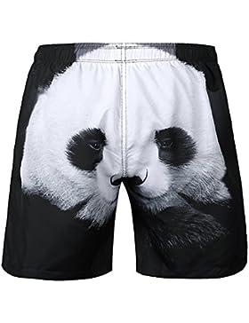 GXSCE Troncos de natación casuales de la moda, pantalones cortos personalizados, pantalones transpirables absorbentes...