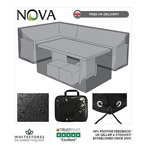 Superb Nova Outdoor Living Weatherproof Cover For Kingston Corner Home Interior And Landscaping Ologienasavecom