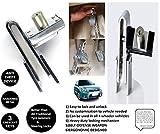 Best Car Locks - Stainless Steel 8 Holes Clutch Lock Car Brake Review