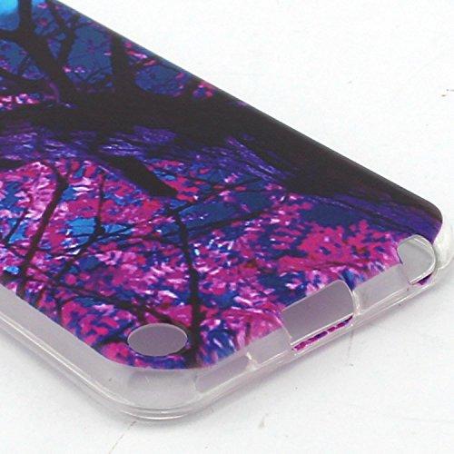 Voguecase® Pour Apple iPhone 6/6S 4.7, TPU Silicone Shell Housse Coque Étui Case Cover (Chat/ECG)+ Gratuit stylet l'écran aléatoire universelle arbre rouge 02