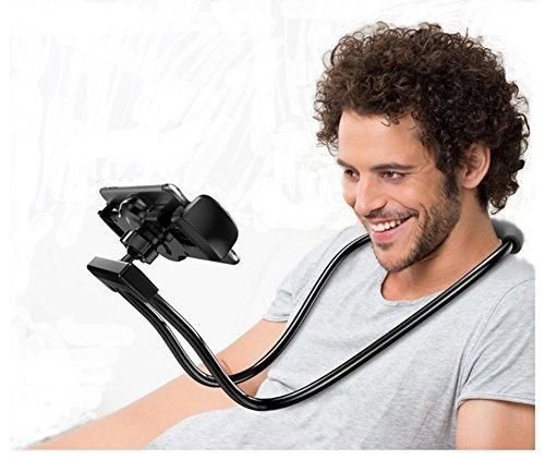 Glodenbridge Handy-Halter, Flexible Handy-Halter-Ketten-Lange Arm-Faule Klammer-Mobiltelefon-Halter-Stand, für bewegliche Geräte 3.5-6.5 Zoll; Farbe versendet nach dem Zufall (1 Stücke)