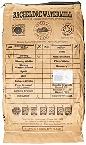 Bacheldre Watermill Organic Stoneground Strong 100% Wholemeal Flour 16 kg