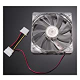 Artistic9(TM) leiser, kühlender Computer-Gehäuselüfter, 120x 120x 25mm, 12V, Computer/ PC/ CPU