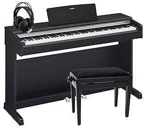 Yamaha YDP-142 B Arius Digitalpiano Schwarz Matt SET inkl. Bank + Kopfhörer