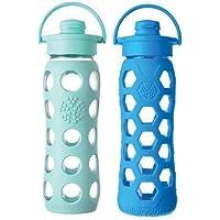 Lifefactory 623,7gram in vetro tappo in bottiglie di bevande–2confezione