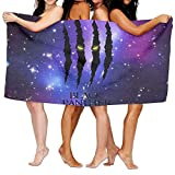 NFHRRE Beach Towel Black Panther Glares 31