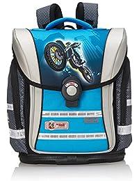 Mc Neill Schoolbag Set, blue/grey (Multicolour) - 9607166000