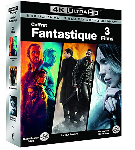 COFFRET FANTASTIQUE 4K UHD - Blade Runner 2049 / La tour sombre / Underworld : Blood Wars - Exclusif Amazon [Blu-ray]