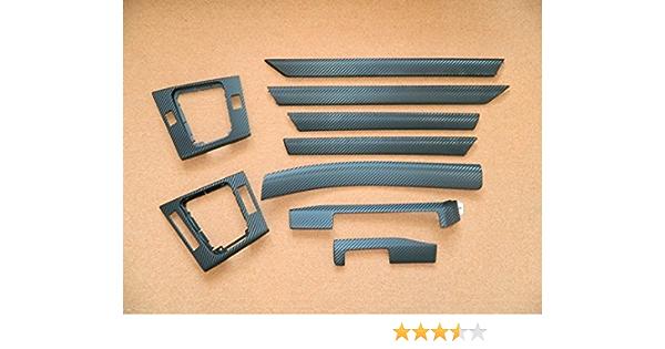 Dekorleisten Interieurleisten Carbon 3d Struktur Folien Set Schwarz Passend Für E46 Auto