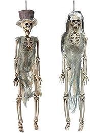 65dc8b19f891 Amazon.es  Colgante Esqueleto  - Mujer  Joyería