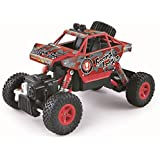 The Flyer's Bay Amazing ROCK CRAWLER 1:20 Scale 4WD RALLY CAR - The Mean Machine (Red-1:20)