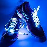 MEGAVERSAL® +++ LED Leucht Schnürsenkel +++ leuchtende Schuhbänder +++...