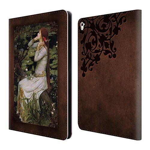 Offizielle Brigid Ashwood Wasserhaus 12 Präraffaeliten 2 Brieftasche Handyhülle aus Leder für Apple iPad Pro 9.7