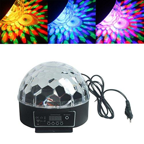 ALED LIGHT®Hermosa luz RGB LED Efecto bola de cristal mágica DMX DJ del disco de iluminación de la etapa de reproducción y