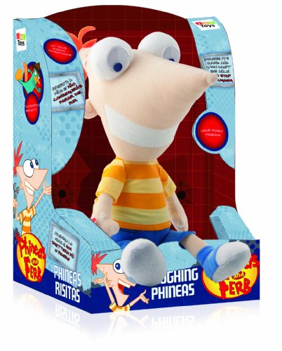 Imagen 1 de IMC Toys 460058 Phineas y Ferb - Phineas Risitas