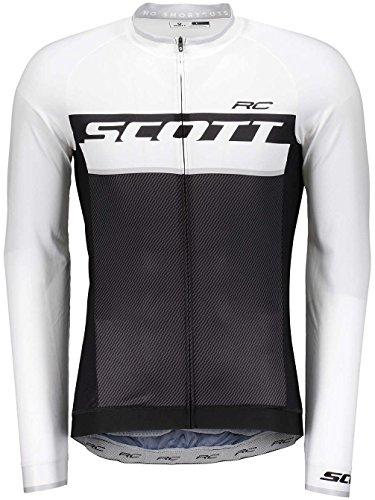 Scott RC Pro Fahrrad Trikot lang schwarz/weiß 2018: Größe: XL (54/56)