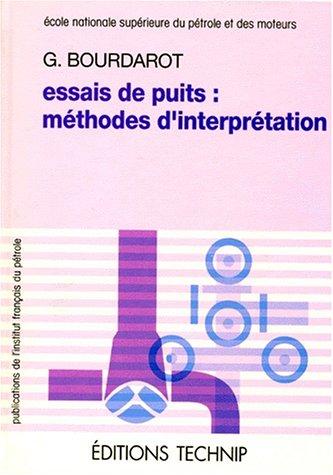 Essais de puits: Méthodes d'interprétation
