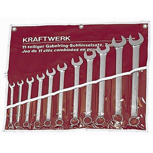 Kraftwerk-Jeu 3585R cles mixtes 11 pouces en Sac