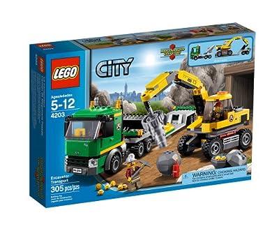 LEGO City 4203 - Camión de Maquinaria Pesada de LEGO