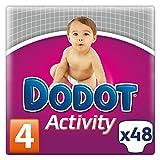 Dodot Activity - Pañales para bebé, talla 4 - 48 pañales