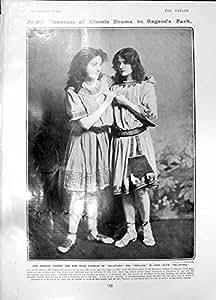 Copie Antique de Princesse Victoria 1905 de Gallathea Barbara Tennant Hilda Franklin