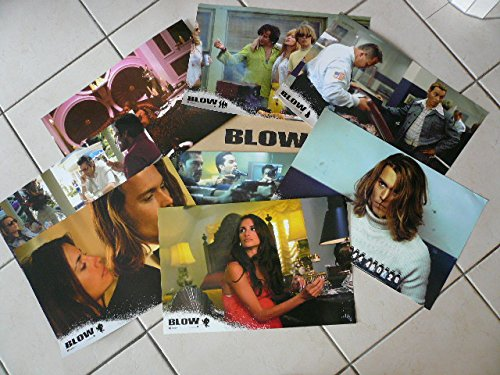 Blow – Johnny Depp – Gioco di 8 foto Cinema originale