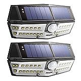 【Version Innovante】2 PACK 30 LED Mpow Lampe Solaire Etanche IPX6 Détecteur de...