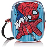 Marvel Spiderman 2100-946 Sac Bandoulière 3D, Garçon, Multicolore