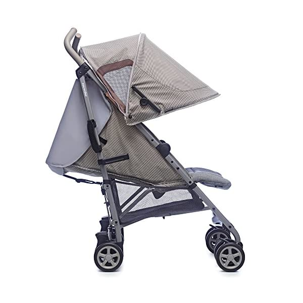 Easywalker Buggy Milano Melange  Suitable from birth 5 point 3 position harness Four recline positions with near flat recline 3