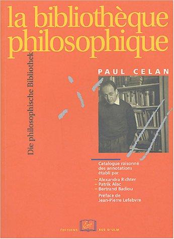 La bibliothèque philosophique