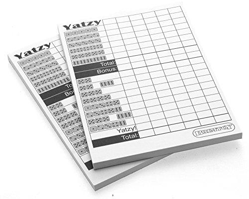yatzy-score-pads-x-2-100-sheets